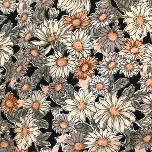 Tops - Floral print short sleeve crop top